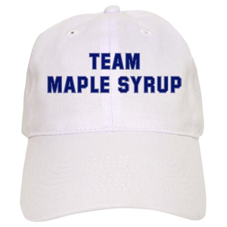 Team MAPLE SYRUP Baseball Cap by superfood