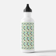Flowers and Butterflie Water Bottle