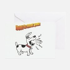 Yappy Express Greeting Card