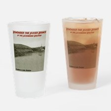 Cranberry Lake Shirt Drinking Glass