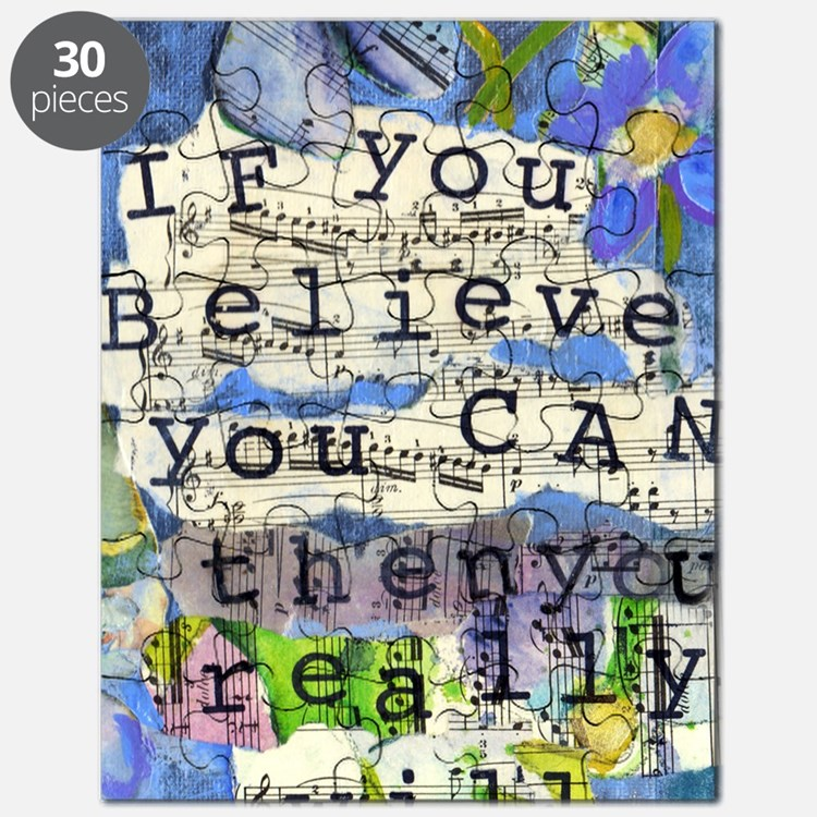 If you believe Puzzle