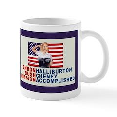 Enron Halliburton Bush Cheney Mission Accomplished