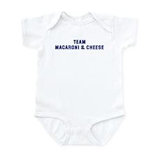 Team MACARONI & CHEESE Infant Bodysuit