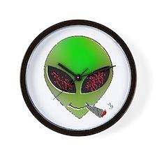 Alien's High Wall Clock