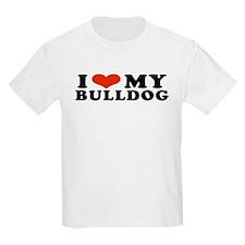 IHeartBulldog.jpg T-Shirt