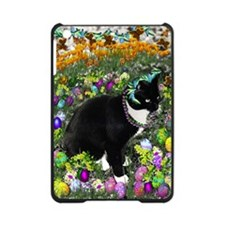 Freckles the Tux Cat in Easter Eggs iPad Mini Case