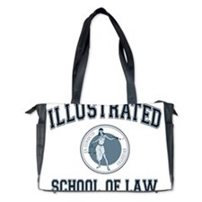Illustrated School of Law Diaper Bag