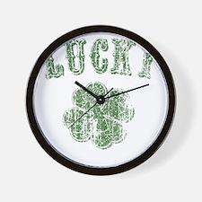 lucky-shamrock-LTT Wall Clock