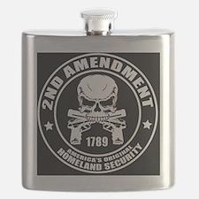 2nd Amendment America's Original Homeland Se Flask