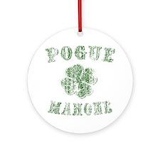 pogue-mahone-vint-LTT Round Ornament