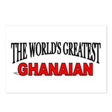 """""""The World's Greatest Ghanaian"""" Postcards (Package"""