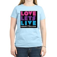 Love Lets Live (multi-color) T-Shirt