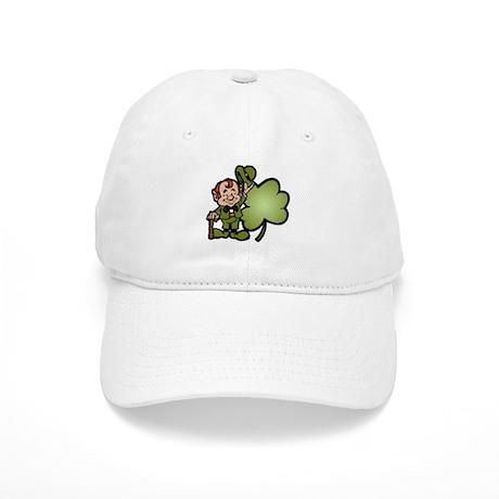 Leprechaun and Shamrock Cap