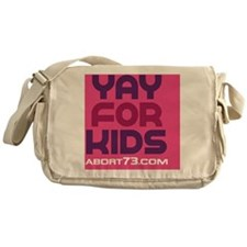 Yay for Kids Messenger Bag