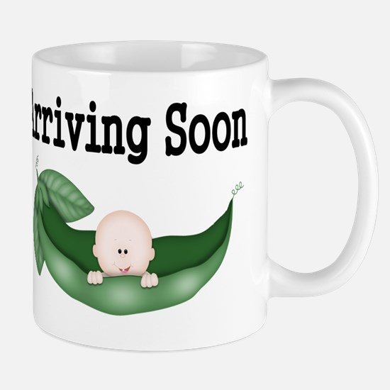 Arriving Soon-Bald Baby Mug