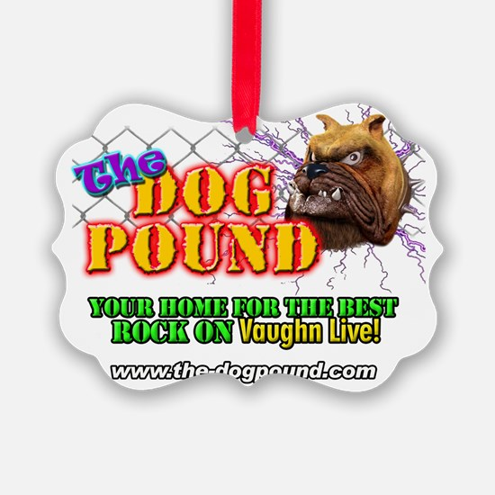 Dog Pound Shirt Ornament