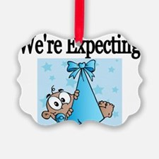 Were Expecting-boy Ornament