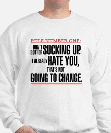 Grey's Anatomy Rule Number One Sweatshirt