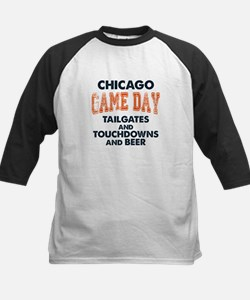 Chicago Game Day Football Fan Tee