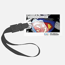 SPJ Superman Luggage Tag