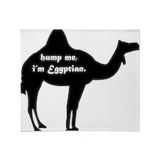 Hump Me, I'm Egyptian Throw Blanket