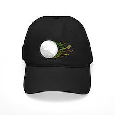 Flaming Golf Ball Club PGA Masters Baseball Hat