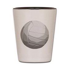 Volleyball Net Jump Bump Set Spike Shot Glass