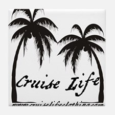 Cruise Life Logo Tile Coaster