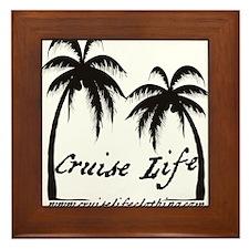 Cruise Life Logo Framed Tile