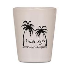 Cruise Life Logo Shot Glass