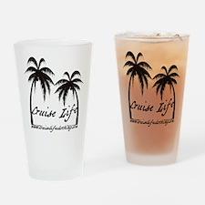 Cruise Life Logo Drinking Glass