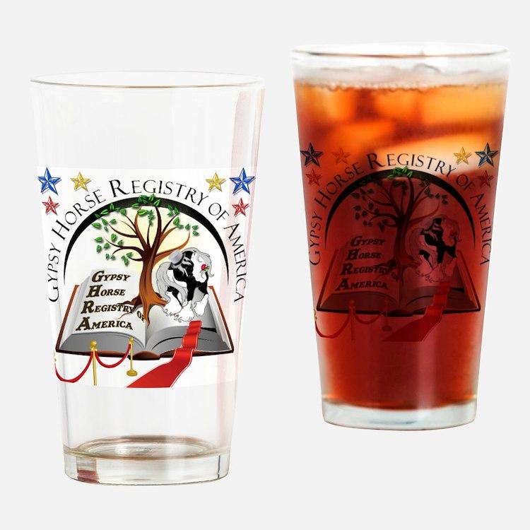 2013 GHRA World Show Logo Drinking Glass