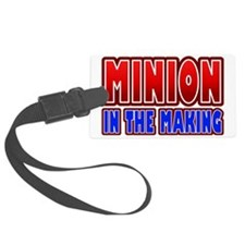Minion in the Making Pregnant Luggage Tag