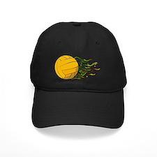 Flaming Waterpolo Ball US Olympics Swimm Baseball Hat