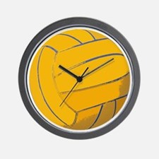 Waterpolo Ball US Olympics Swimming Fis Wall Clock
