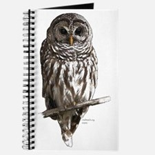 Color Barred Owl (for white) Journal