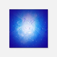 "Music In The Soul Square Sticker 3"" x 3"""