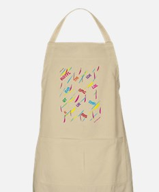 TEXT CRAZY Apron