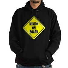 Minion on Board Car Sign Hoodie