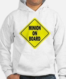 Minion on Board Car Sign Hoodie Sweatshirt