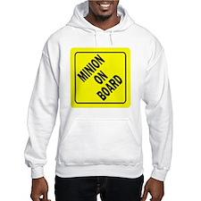 Minion on Board Car Sign Hoodie Sweatshirt
