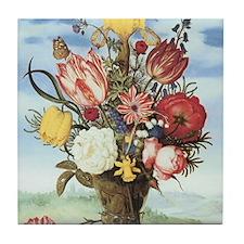 Bouquet of Flowers Tile Coaster