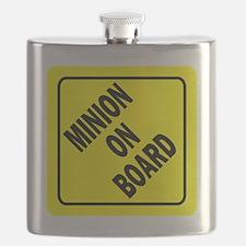 Minion on Board Car Sign Flask