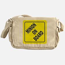 Minion on Board Car Sign Messenger Bag
