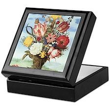 Bouquet of Flowers Keepsake Box