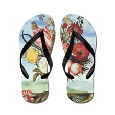 Bouquet of Flowers Flip Flops
