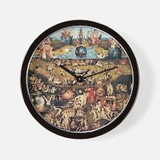 Garden of Earthly Delights Wall Clock