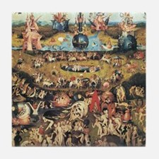 Garden of Earthly Delights Tile Coaster