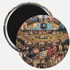 Garden of Earthly Delights Magnet