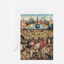 Garden of Earthly Delights Greeting Card